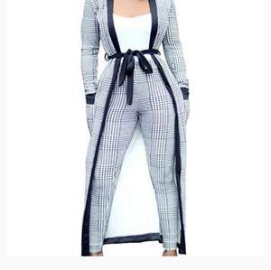 Cardigan suit